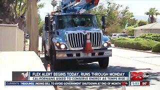 Flex alert begins Friday, runs through Monday