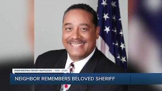 Neighbor remembers beloved Sheriff