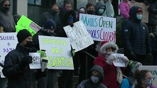 Kids speak out against virtual learning at rally to reopen schools