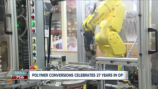 Polymer Conversions celebrates 27 years in business