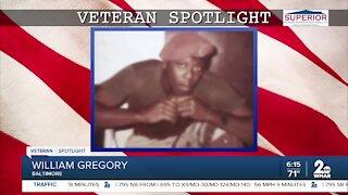 Veteran Spotlight: William Gregory of Baltimore