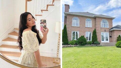La maison de Priscilla Ventura est à vendre et l'immense walk-in semble sorti d'un magazine