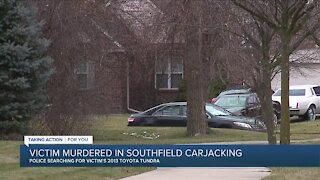 Police: Man carjacked, shot & killed in driveway of Southfield home