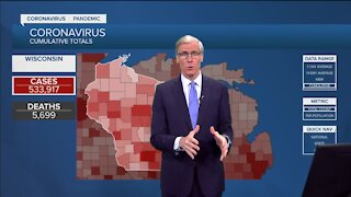 Tracking COVID-19 cases in Wisconsin