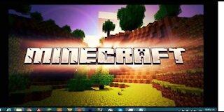 Minecraft survival gameplay