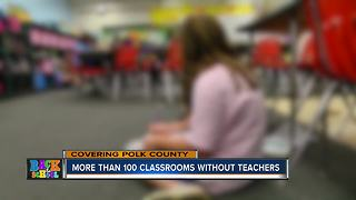 Polk County needs to fill 135 teacher positions before school starts