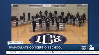 Immaculate Conception School in Towson says Good Morning Maryland!