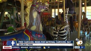 Free rides at Balboa Park for National Carousel Day