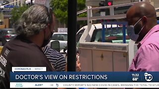 Local doctor speaks on latest COVID-19 restrictions