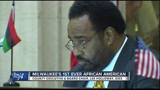 Milwaukee's first African American county executive dies