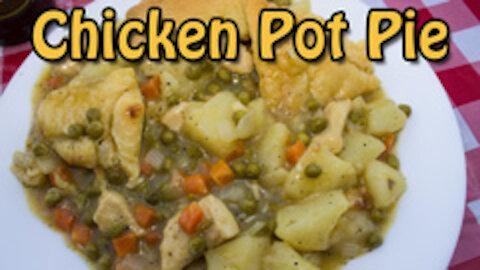 Dutch Oven Chicken Pot Pie