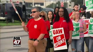 Local UAW strikers vote on tentative agreement Tuesday