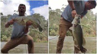 Detta är Australiens mest exalterade fiskare