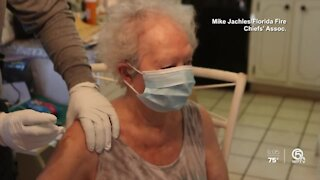 COVID-19 vaccinations for Holocaust survivors in Palm Beach County
