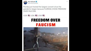 DeSantis REJECTS TYRANNY and decides for Freedom over Faucism!