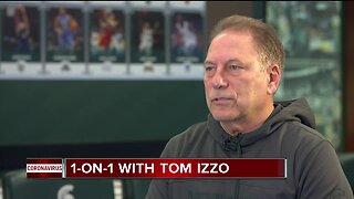 Tom Izzo talks about coronavirus shortened season
