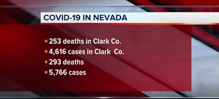 COVID-19 cases in Nevada | May 8