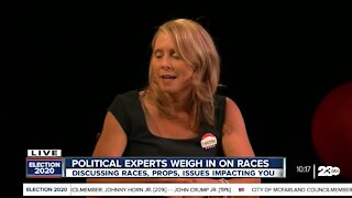 Dr. Jeanine Kraybill 23ABC Election panel