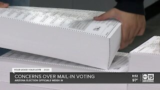 Concerns over mail-in voting