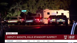 Person shot, killed by Hernando County deputies after barricade situation
