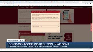COVID-19 vaccine distribution in Arizona