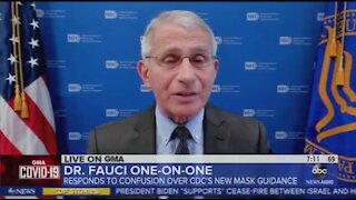 Fauci Admits To Wearing Mask After Vaccination For Political Theatre