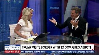 Trump Visits Border with Tx Gov. Greg Abbott