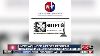 The Wounded Heroes Fund kicks off new program this month