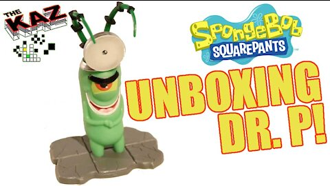 Spongebob Squarepants Dr P Unboxing