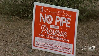 Phoenix residents get good news about water pipeline route
