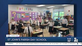 St. John's Parish Day School says Good Morning Maryland!