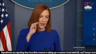 """Biden's Press Secretary: """"Uh"""" and """"Um"""""""