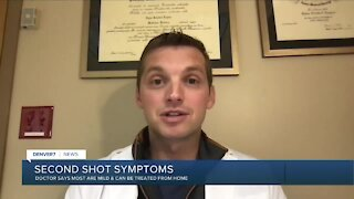 Local doctor addresses concerns about second dose of COVID-19 vaccine