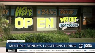 Kern Back in Business: Denny's hosting job fair on Wednesday