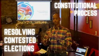 The Constitutional Process for Resolving a Contested Election