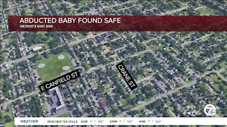 2-month-old baby safe after being abducted