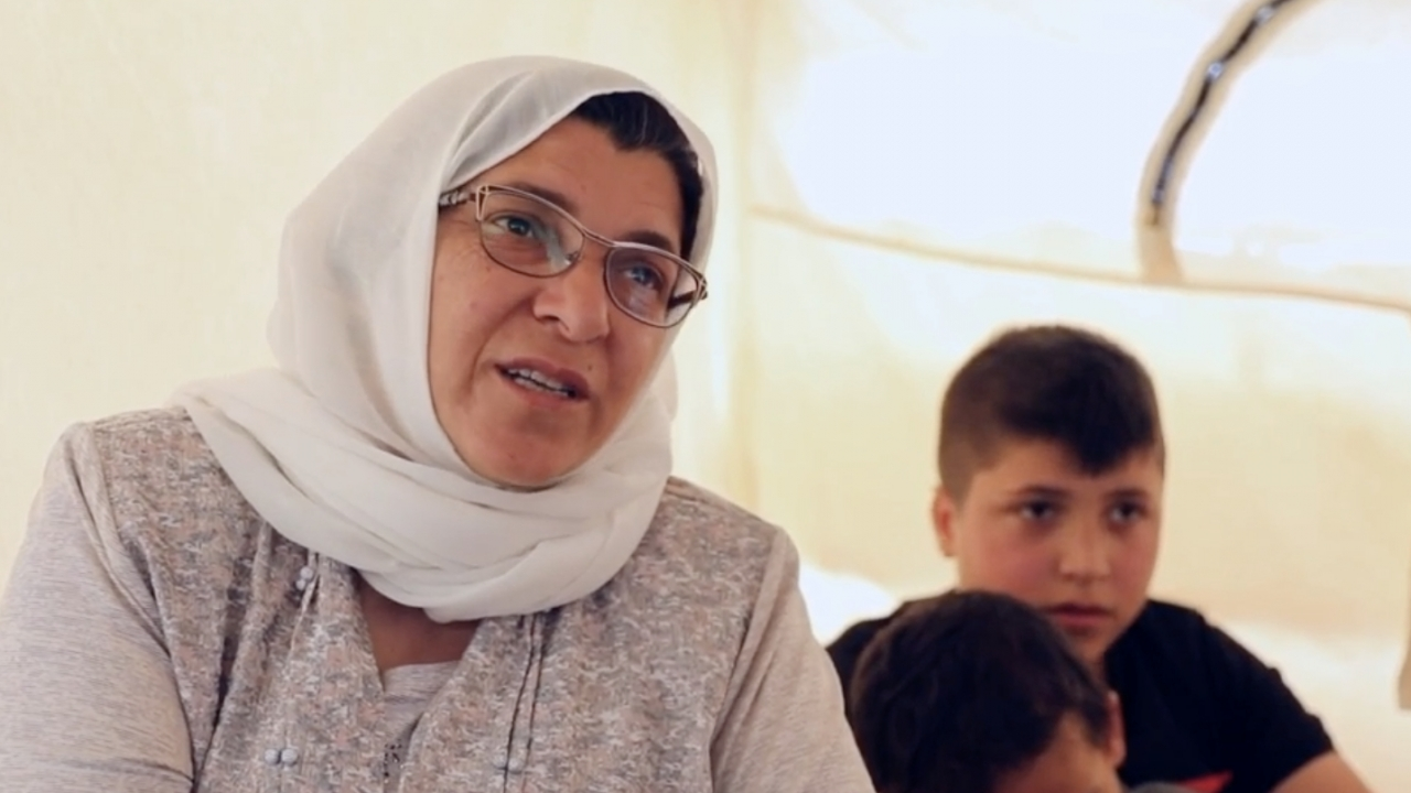 Yazidi Family Finds Safety In Syrian Refugee Camp