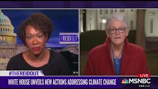 Joy Reid: If Ailens Attack Us It's Because We Destroyed Our Climate