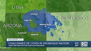 Navajo Nation puts three week lockdown into effect