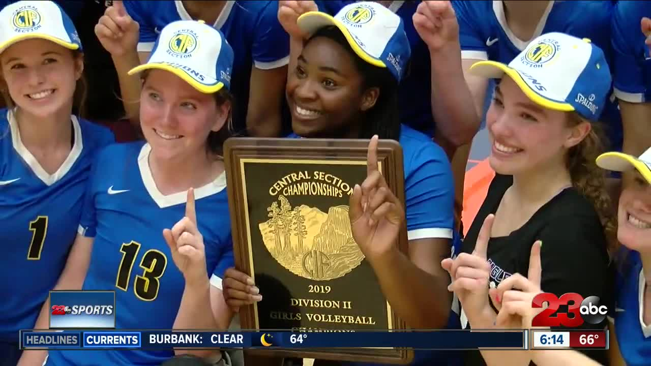 Three local volleyball teams battle for section titles