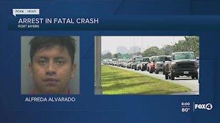 Arrest made in fatal crash