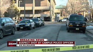 UWM Police shot suspect after altercation on campus