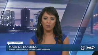School officials meeting to discuss mask policy