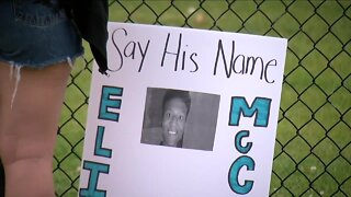 Dozens gather to honor Elijah McClain on anniversary of fatal detainment by Aurora Police
