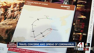 Travel concerns amid spread of coronavirus