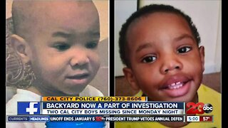 Cal City toddlers still missing