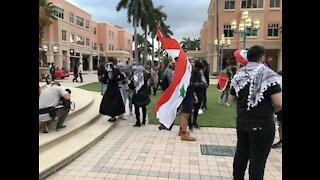 Pro-Palestinian rally held in Boca Raton