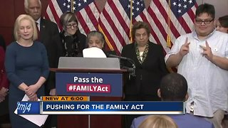 Local family travels to Washington to push for FAMILY Act