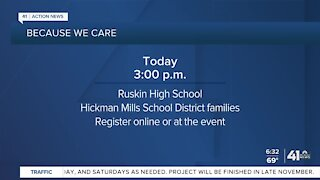 'Because we care' event to help families in need