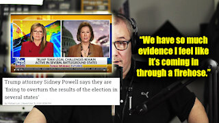 Trump attorney Sidney Powell fixing to overturn results in several states
